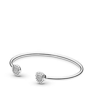 PANDORA signature bangle bracelet (cuff)